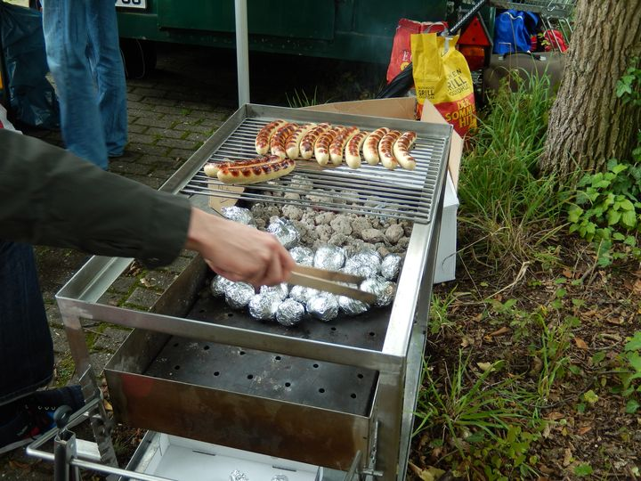 Barbeque After the Tournament